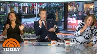 Peter Alexander Gets Scared By A Fake Mouse On Weekend TODAY | TODAY