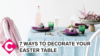 Decorate Your Easter Table With These 7 Quick  And Beautiful!  Tricks