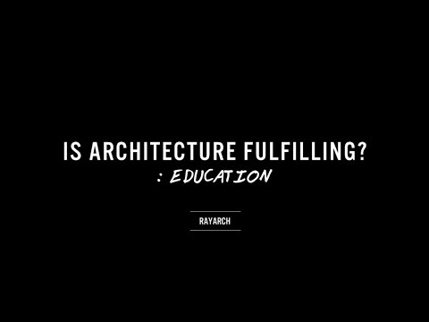 Is Architecture Rewarding? // with Drew Paul Bell