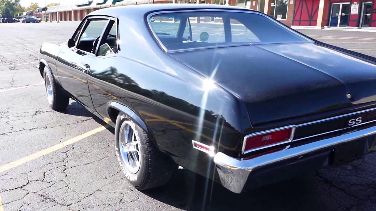 All Chevy black chevy nova ss : 1971 Chevrolet Nova -SS Trim-NEW BLACK PAINT-4 SPEED TRANS- FOR ...