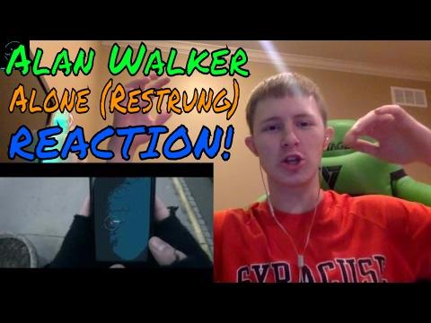 Alan Walker - Alone (Restrung) REACTION!