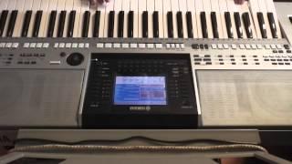 Токката (Роланд) в исполнении синтезатора.