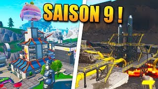 FORTNITE SAISON 9: NEW MAP - SECRETS!