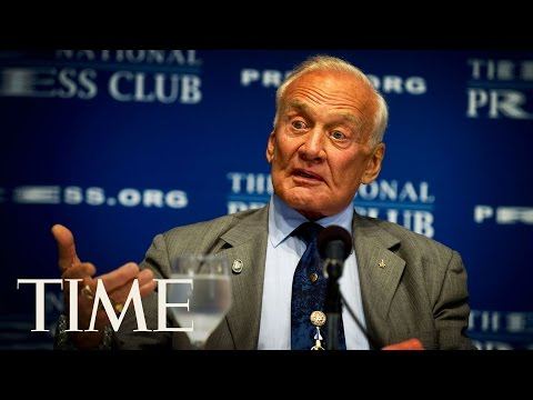 Buzz Aldrin & Jeffrey Kluger On Human Missions To Mars, The Apollo 8 Mission And More At SXSW | TIME
