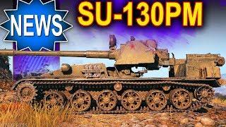 SU-130PM - kolejny dziwoląg :) World of Tanks