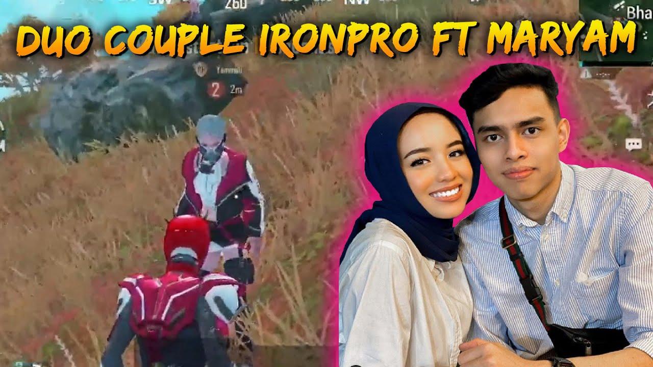 Mission Menjaga Maryam Sampai Di Bunuh Cacing Sanhok !! | Ironpro FT Maryam | PUBG Mobile Malaysia