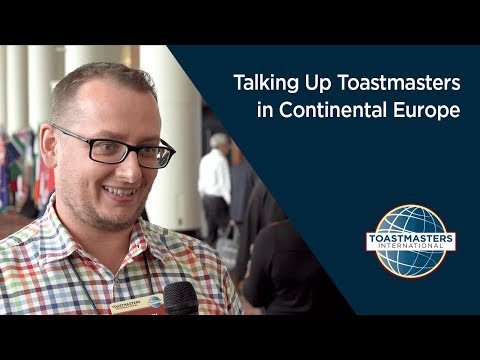 Talking Up Toastmasters in Continental Europe