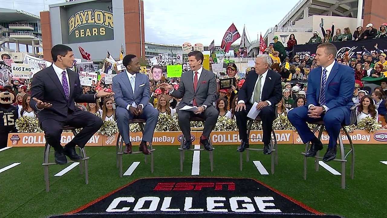 Baylor-Kansas is College Gameday