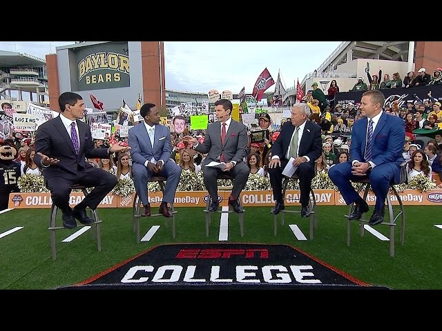 ESPN College Gameday Baylor vs Oklahoma 11-14-2015