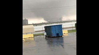 Tornado in New Orleans East (Michoud area)