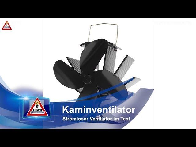Kamin Ventilator Stromlos Test Funktion Youtube