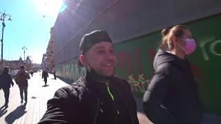 Гуляем по безлюдному Киеву / Скандал в троллейбусе, потому что нас больше чем 10 / Коронавирус Киев