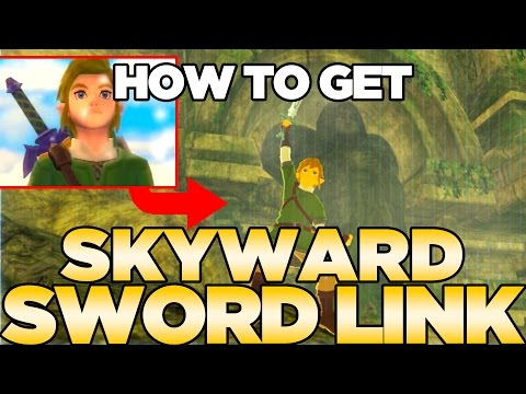How to get Skyward Sword Link in Breath of the Wild - Cap & Tunic with NFC Cards   Austin John Plays