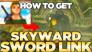 How to get Skyward Sword Link in Breath of the Wild - Cap & Tunic with NFC Cards | Austin John Plays