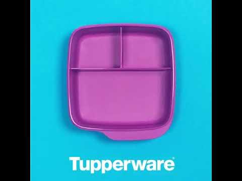 """Контейнер с разделителем """"Школьник"""" (550 мл) фиолетовый Tupperware"""
