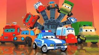 Дорожные рейнджеры | Палец Семья | дети автомобиль | Preschool Songs | Kids Rhymes | Finger Family