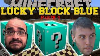 Minecraft, La Notte degli Orrori. Lucky Block Robot Alien Mod. Puntata 1.