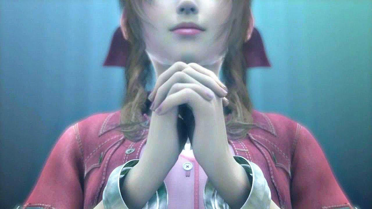 Final Fantasy VII - Sephiroth Kills Aerith - YouTube