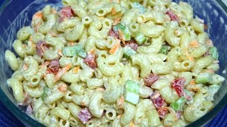 Macaroni Salad Recipe - In The Kitchen With Jonny Episode 108