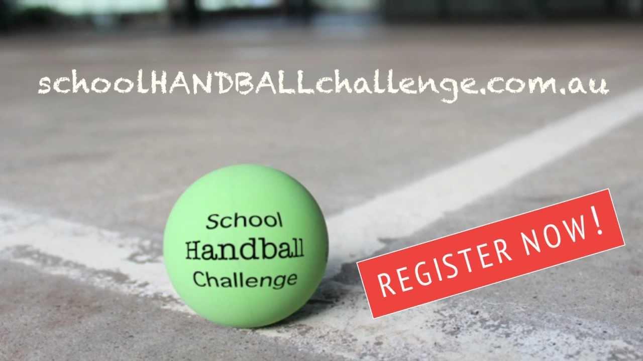 School Handball Challenge - YouTube