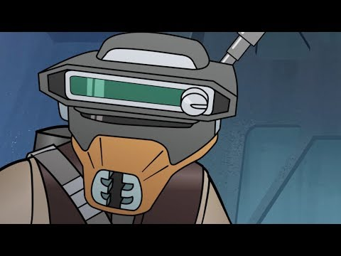 Star Wars Forces of Destiny | Bounty Hunted | Disney