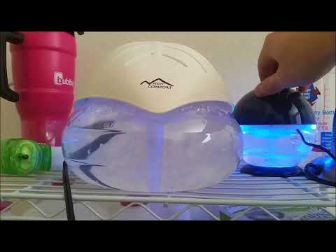 Water Air Purifier Unboxing and Testing