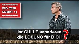 NEUE Düngeverordnung 2020 - Wie Landwirte durch Gülleseparation Kosten sparen + den Gewinn steigern!