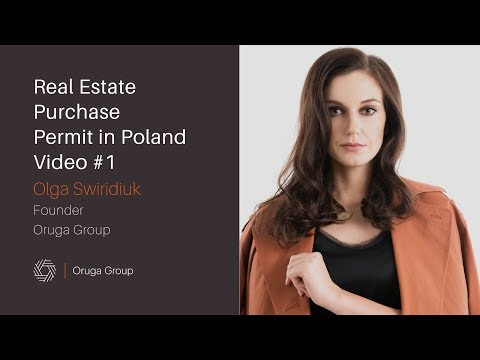 Permit for Real Estate Purchase in Poland, Permit for Real Estate