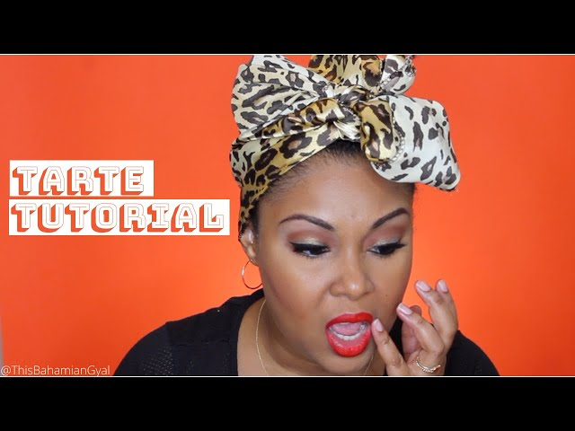 Tarte Unleashed | Eyeshadow Tutorial For Black Women | How To Apply Eyeshadow | This Bahamian Gyal