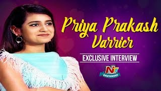 Priya Prakash Varrier Exclusive Interview | Lovers Day Movie | NTV Entertainment