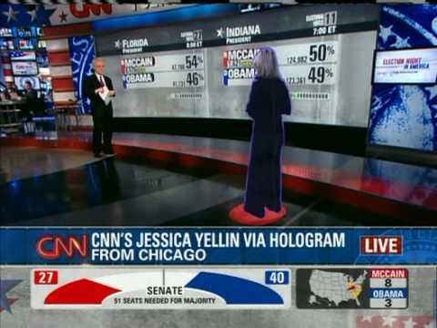 CNN Hologram TV First