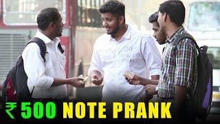 500 - 1000 Rupee Note Banned Prank - Baap Of Bakchod - Raj