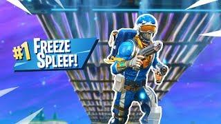 NEW Freeze Spleef MINI-GAME in Fortnite: Battle Royale!