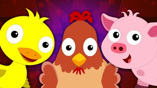 Animal Sound Song For Kids And Children's | Nursery Rhymes For Toddlers