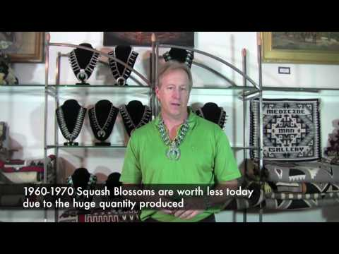 Native American Indian Turquoise Jewelry: How to Identify, Date, Price Squash Blossom Jewelry
