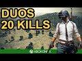 PUBG / 20 DUOS KILLS / Xbox One X