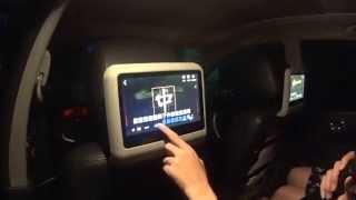 In Car Karaoke KTV system | Android car headrest monitor | Car Audio