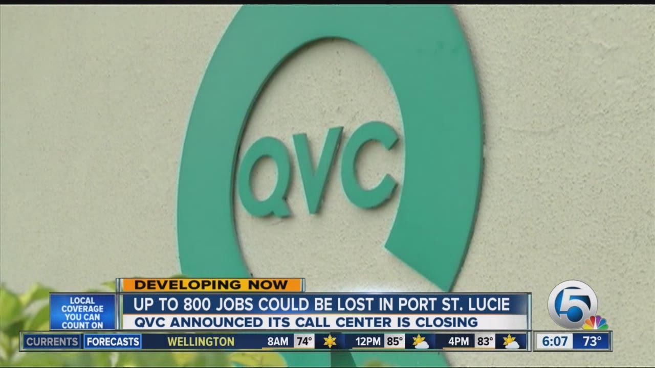 QVC closing Port St. Lucie call center - YouTube