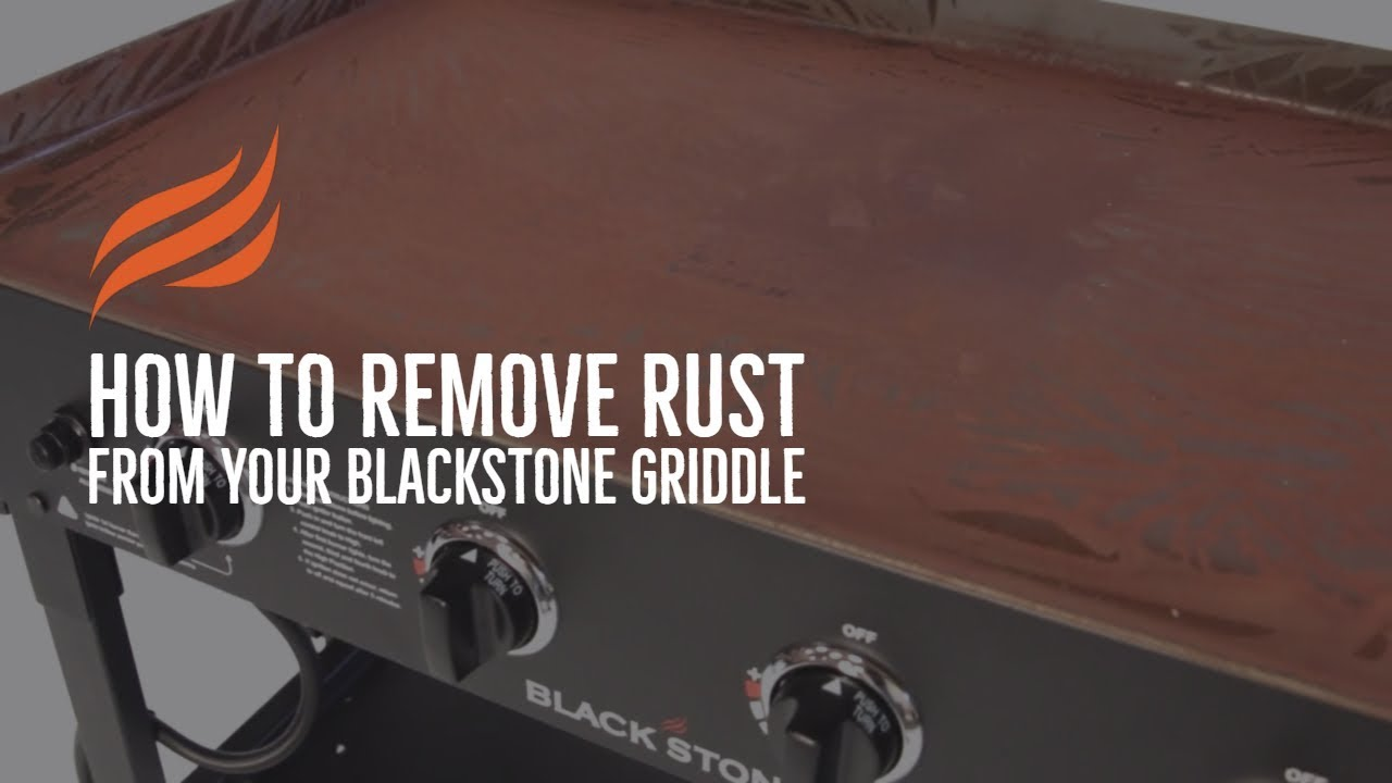 Recovering Your Blackstone Griddle Top Youtube