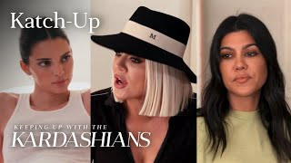 Khloé Kardashian Interferes With Kendall & Kourtney's Argument: