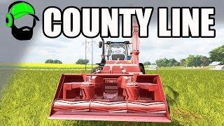Farming Simulator 17 - County Line  - Silage Snowblower ?  #FS17