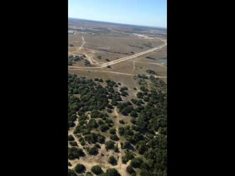 Aerial tour of Fort Hood and surrounding
