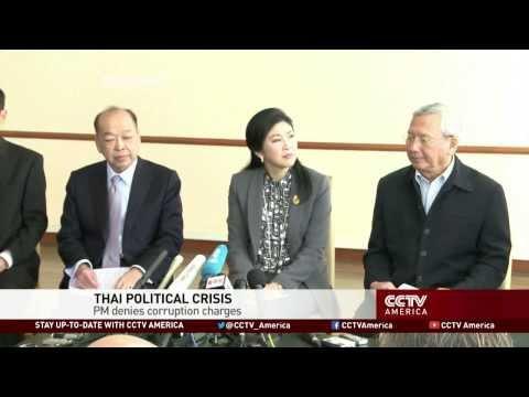 Thailand's Prime Minister Denies Corruption Charge