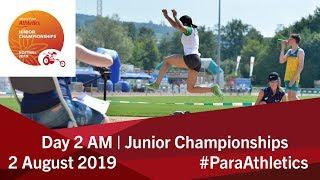 Day 2 Morning | World Para Athletics Junior Championships | Nottwil 2019