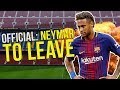 Barcelona Confirm Neymar Will Leave The Club! | Transfer Talk