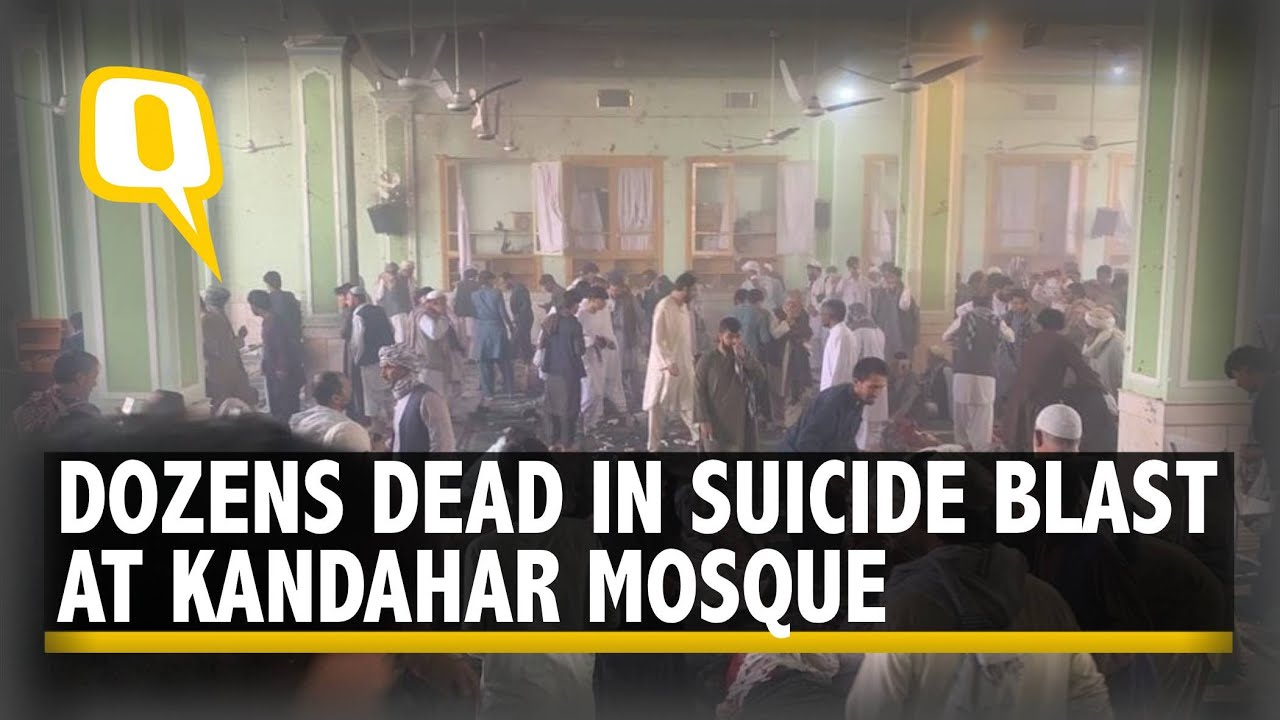 Download Afghanistan: IS Suicide Bomb Attack in Kandahar's Shia Mosque Kills at Least 47   The Quint