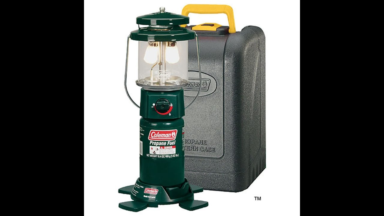 Setting Up And Lighting The Coleman Lantern Model 5155
