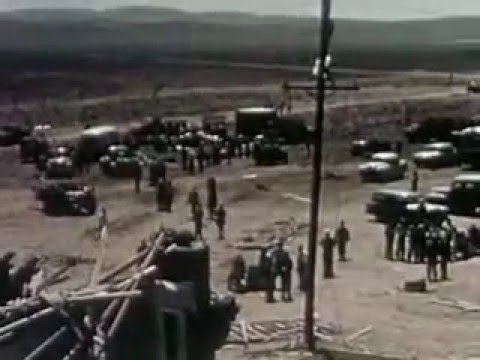 Nuclear Bomb Tests (1955) Dummy Town