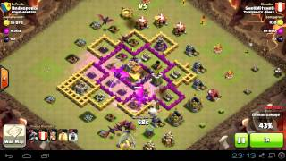 Clash of Clans - Clan Wars - Thailand's Army vs Confidential รอบที่ 2