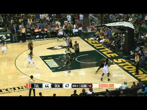 Game Recap: Tulsa Shock vs Seattle Storm